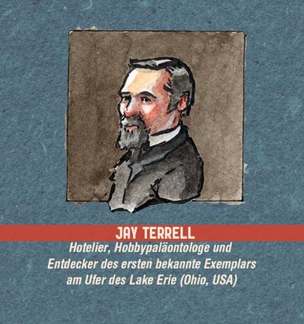 Illustration: Portrait eines Mannes mit dunklen Haaren und schwarzem Goatee (Jay Terrell)
