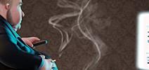 Plakatmotiv - Risikofaktor Rauchen